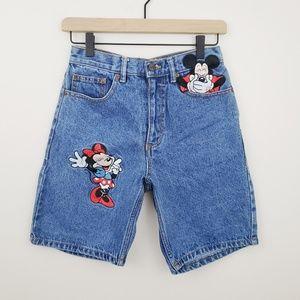 "Vintage Mickey & Minnie ""mom"" Shorts"